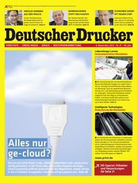 Produkt: Deutscher Drucker Digital 37/2012
