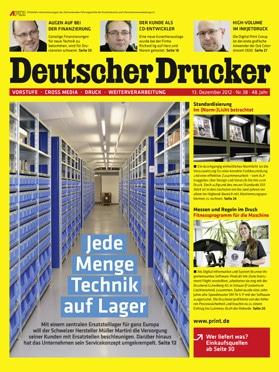 Produkt: Deutscher Drucker Digital 38/2012