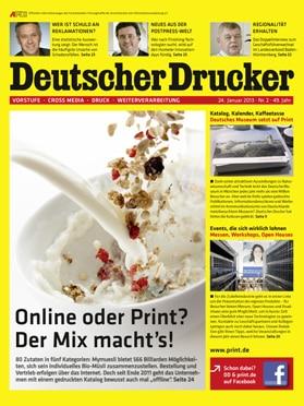 Produkt: Deutscher Drucker 2/2013 Digital