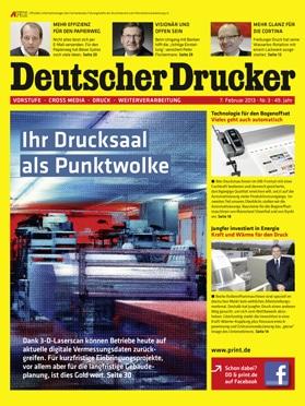 Produkt: Deutscher Drucker 3/2013 Digital
