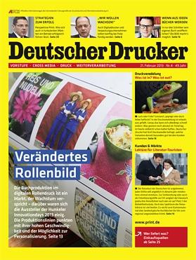 Produkt: Deutscher Drucker 4/2013 Digital