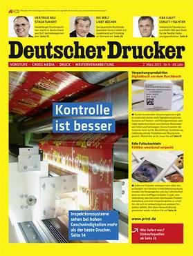 Produkt: Deutscher Drucker 5/2013 Digital