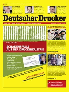 Produkt: Deutscher Drucker 8/2013 Digital