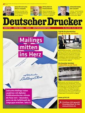 Produkt: Deutscher Drucker 10/2013 Digital