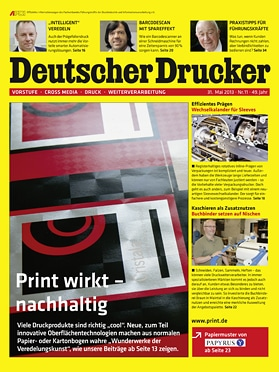 Produkt: Deutscher Drucker 11/2013 Digital