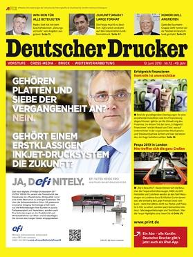 Produkt: Deutscher Drucker 12/2013 Digital