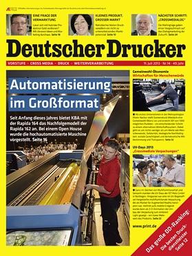 Produkt: Deutscher Drucker 14/2013 Digital