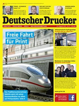 Produkt: Deutscher Drucker Digital 17/2013