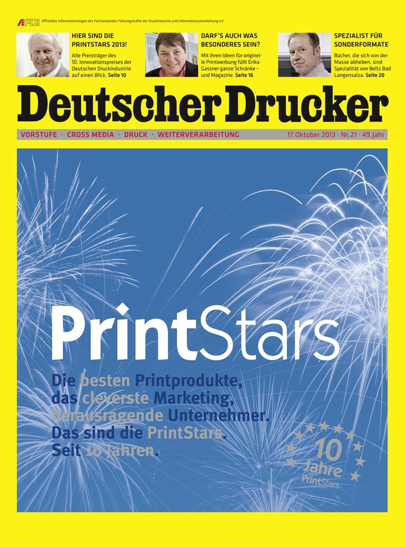 Produkt: Deutscher Drucker 21/2013 Digital