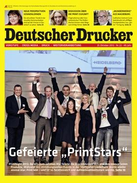 Produkt: Deutscher Drucker 22/2013 Digital