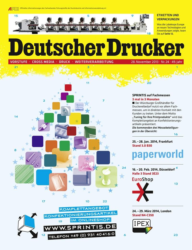 Produkt: Deutscher Drucker Digital 24/2013