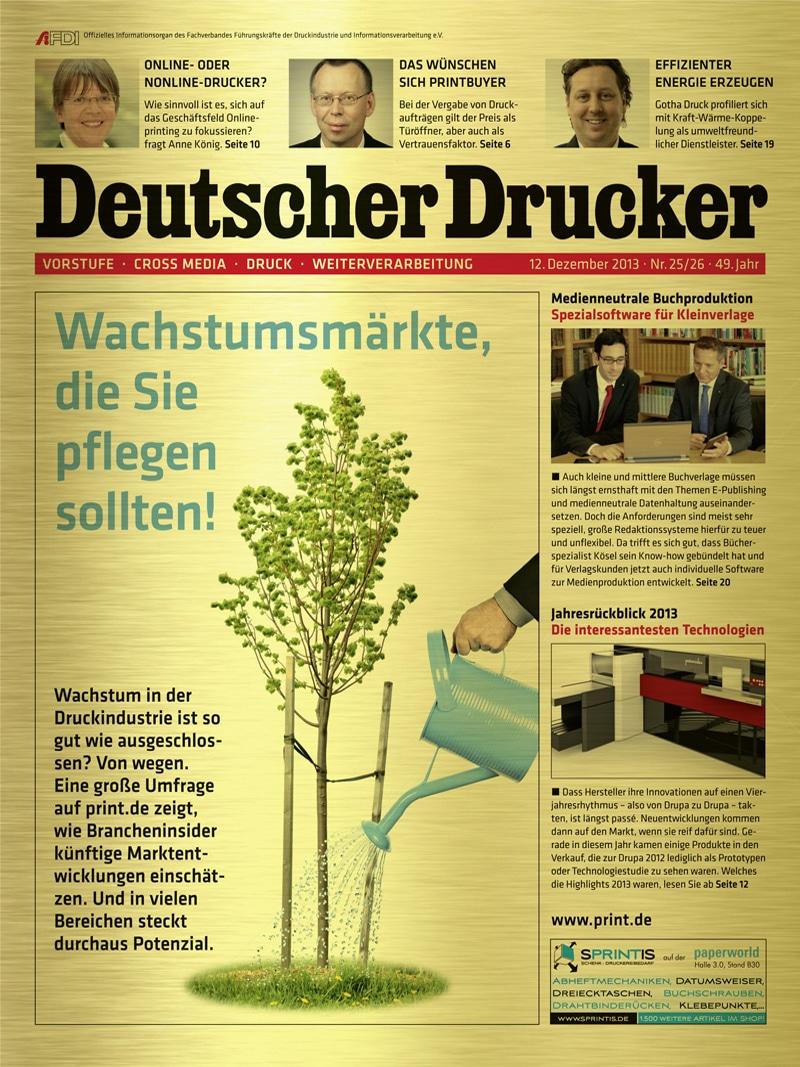 Produkt: Deutscher Drucker 25-26/2013 Digital