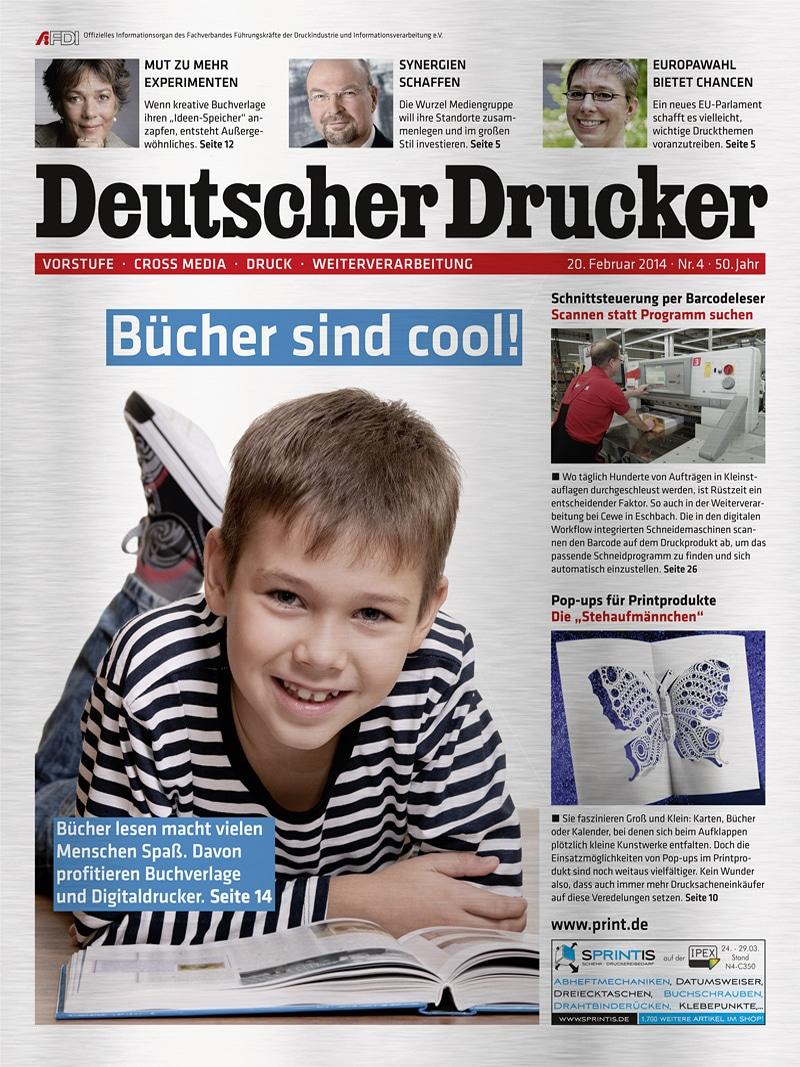 Produkt: Deutscher Drucker 4/2014 Digital