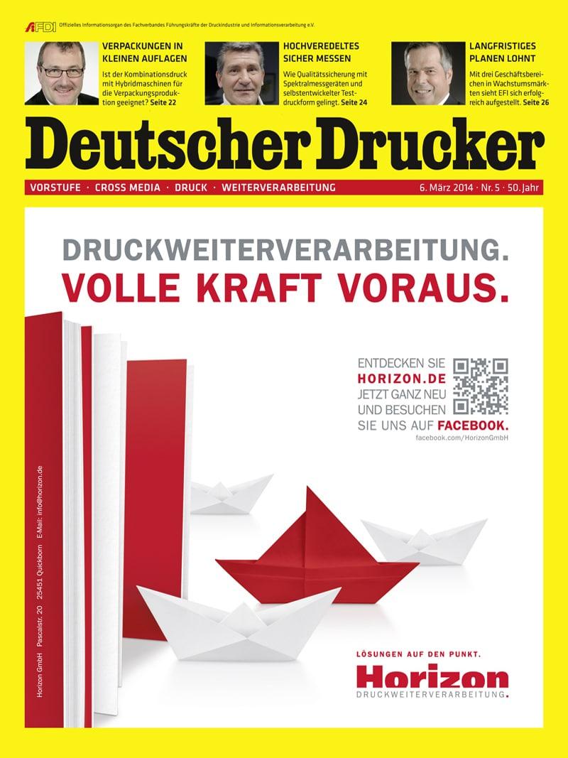Produkt: Deutscher Drucker Digital 5/2014