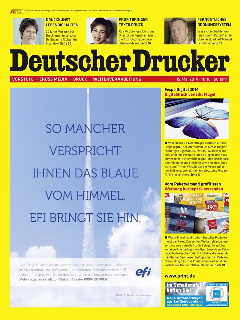 Produkt: Deutscher Drucker 10/2014 Digital