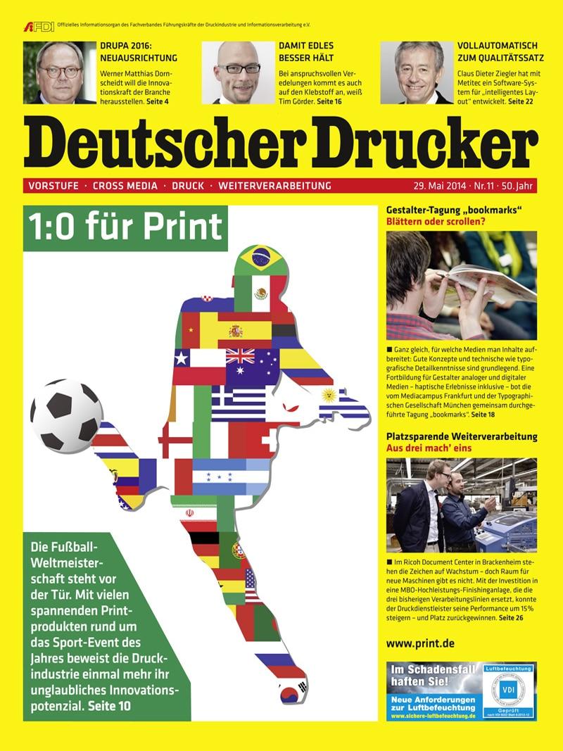 Produkt: Deutscher Drucker 11/2014 Digital