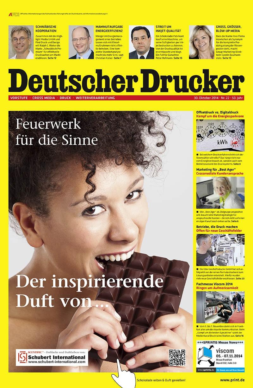 Produkt: Deutscher Drucker 22/2014 Digital