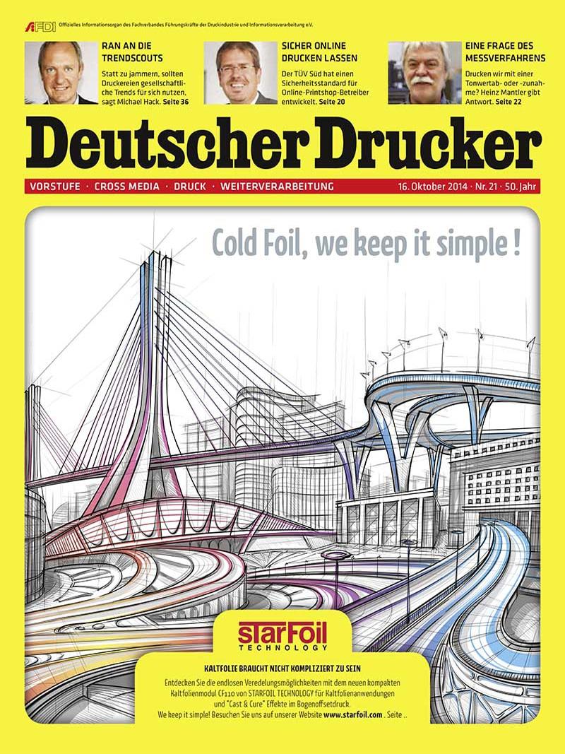 Produkt: Deutscher Drucker 24/2014 Digital