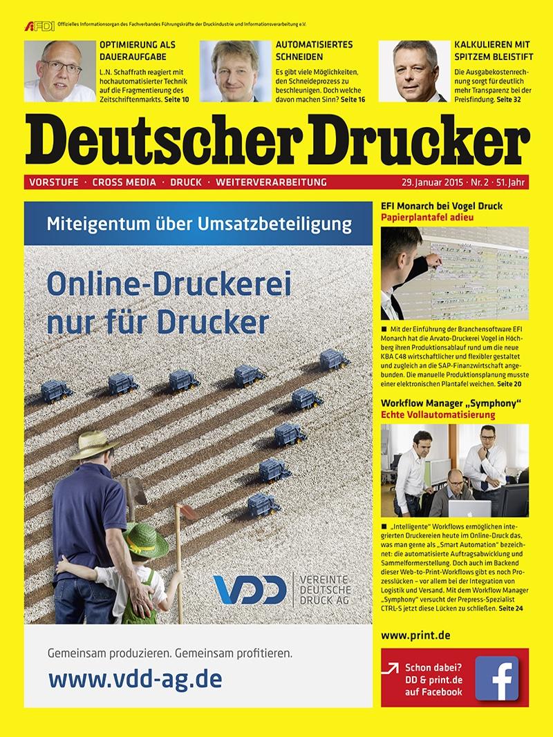 Produkt: Deutscher Drucker Digital 2/2015
