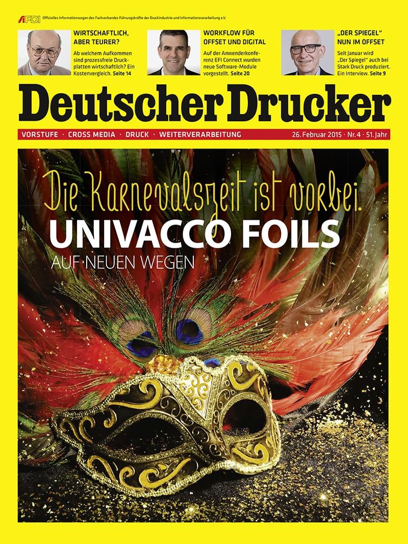 Produkt: Deutscher Drucker 4/2015 Digital