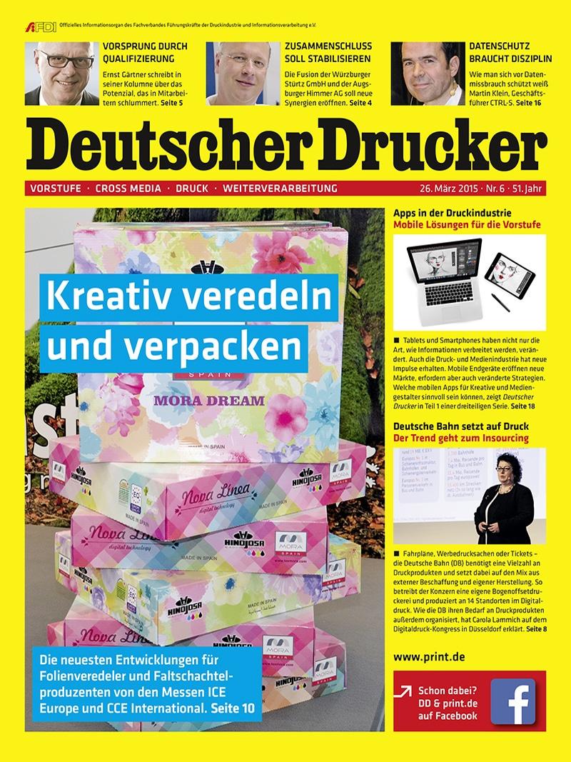 Produkt: Deutscher Drucker Digital 6/2015
