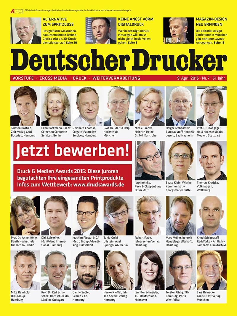Produkt: Deutscher Drucker 7/2015 Digital