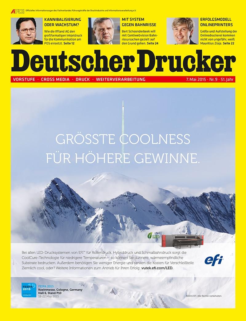 Produkt: Deutscher Drucker Digital 9/2015
