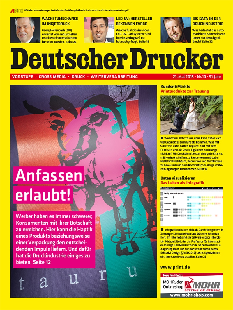 Produkt: Deutscher Drucker 10/2015 Digital