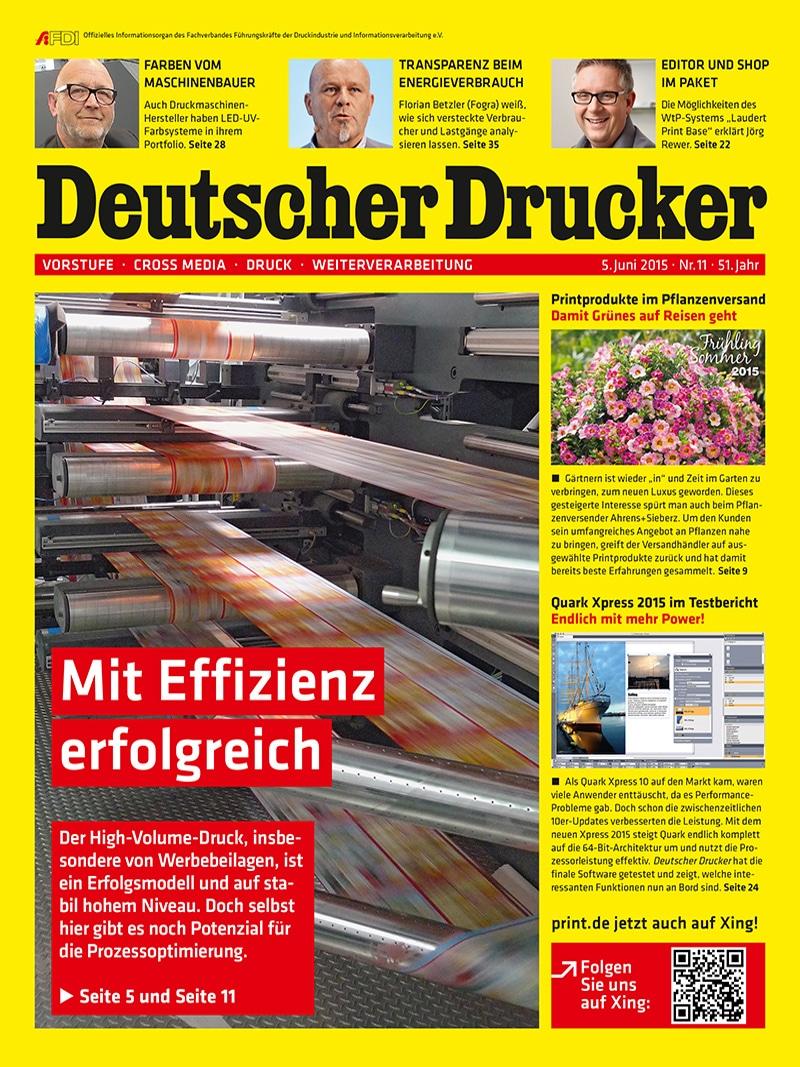 Produkt: Deutscher Drucker Digital 11/2015
