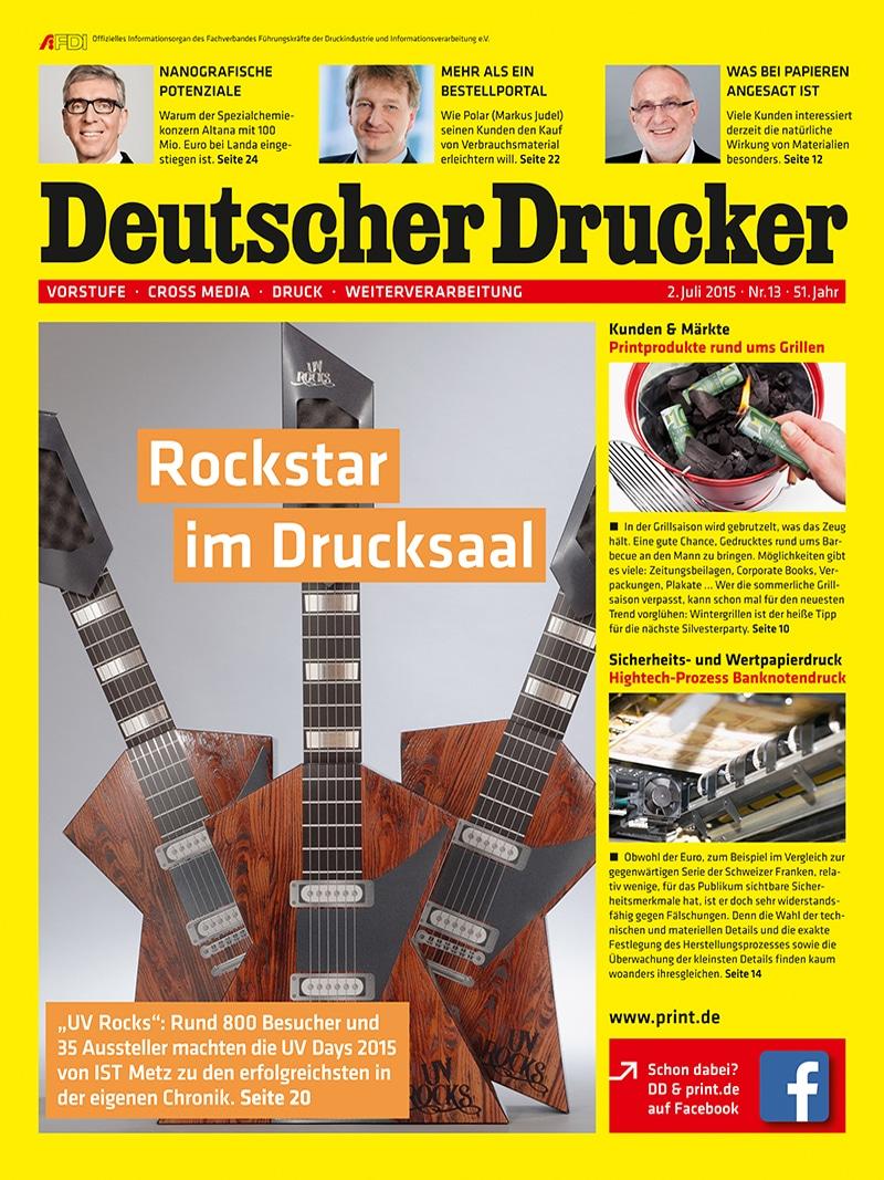 Produkt: Deutscher Drucker 13/2015 Digital