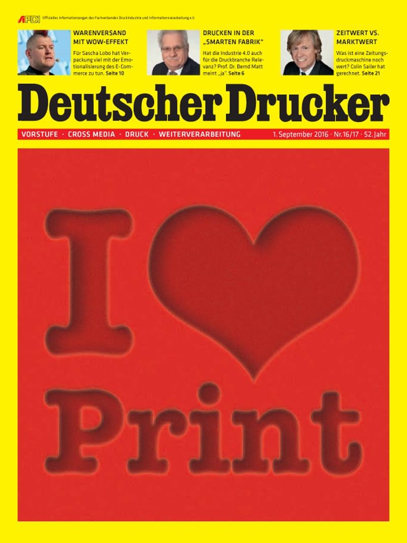 Produkt: Deutscher Drucker Digital 16-17/2016