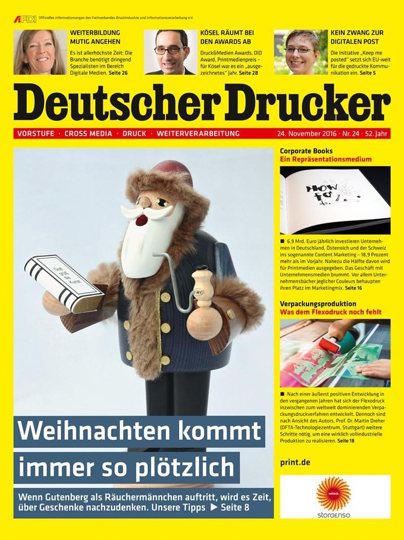 Produkt: Deutscher Drucker 24/2016 Digital