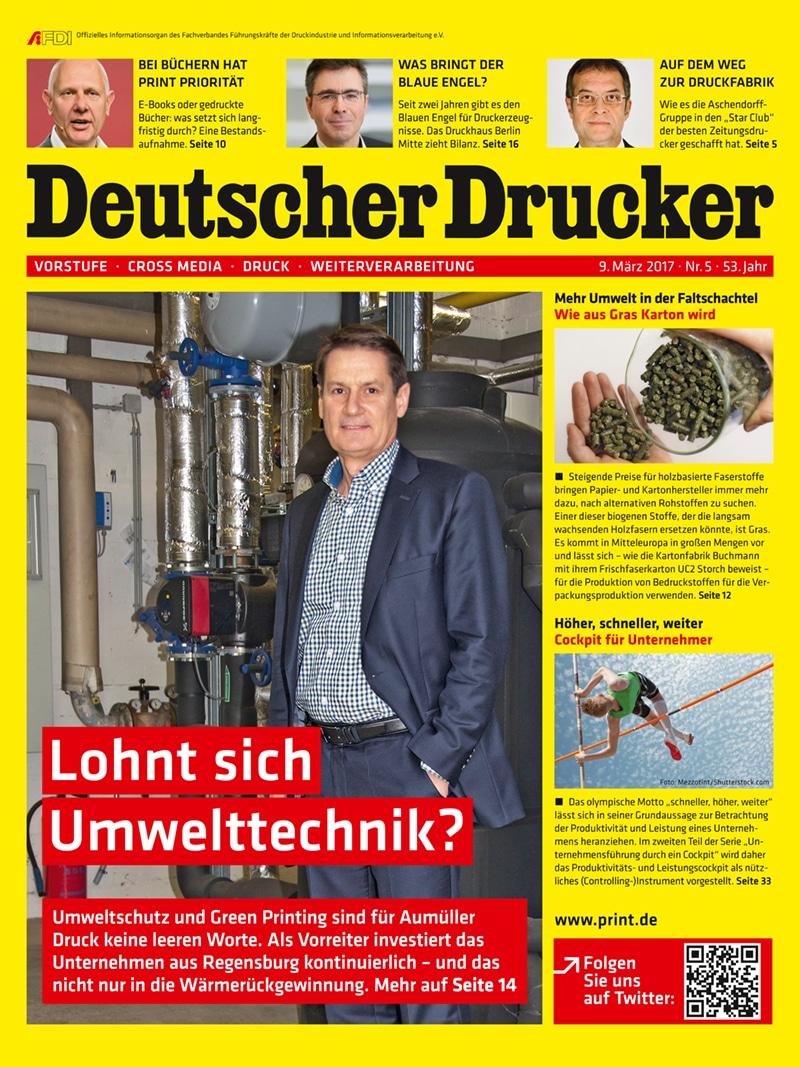 Produkt: Deutscher Drucker 5/2017 Digital