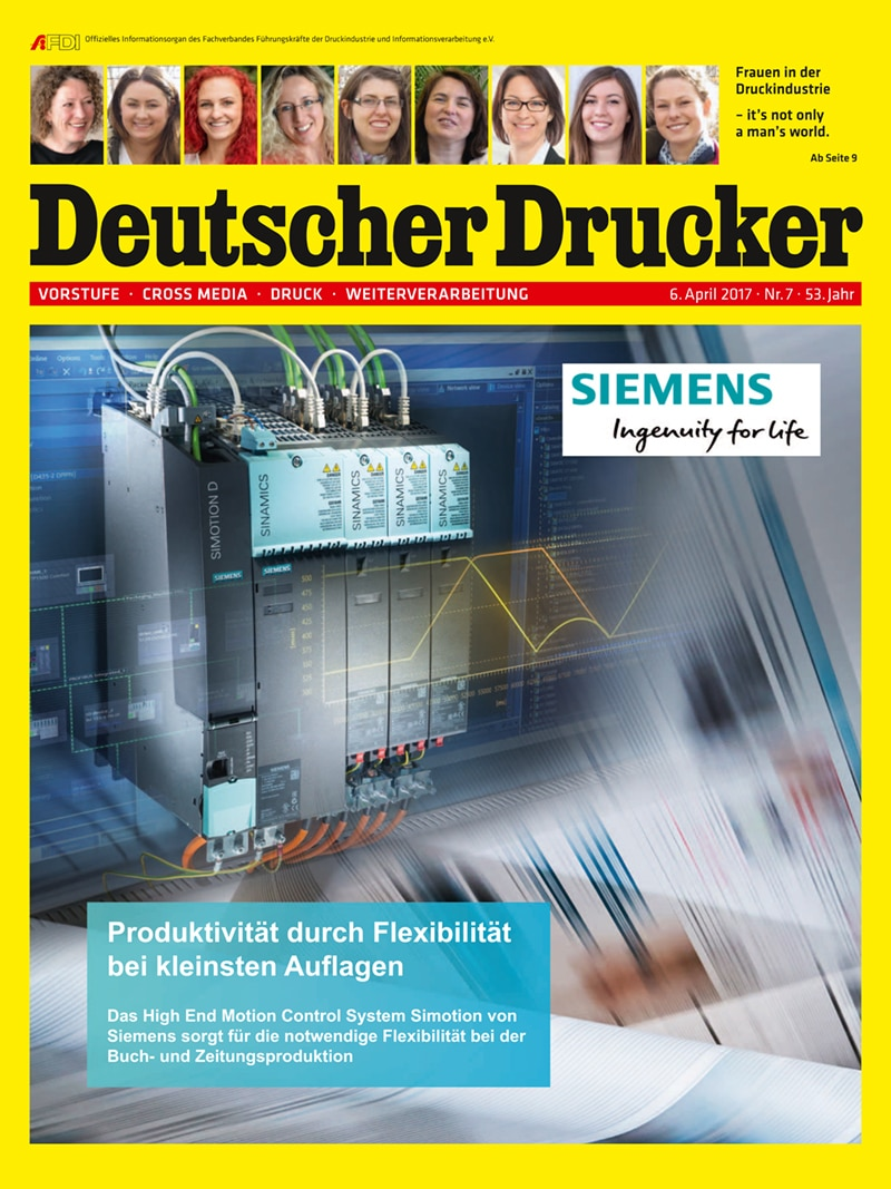 Produkt: Deutscher Drucker 7/2017 Digital