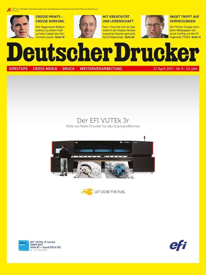 Produkt: Deutscher Drucker Digital 9/2017