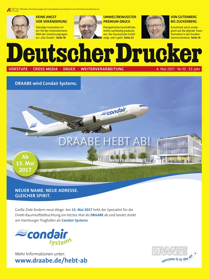 Produkt: Deutscher Drucker 10/2017 Digital