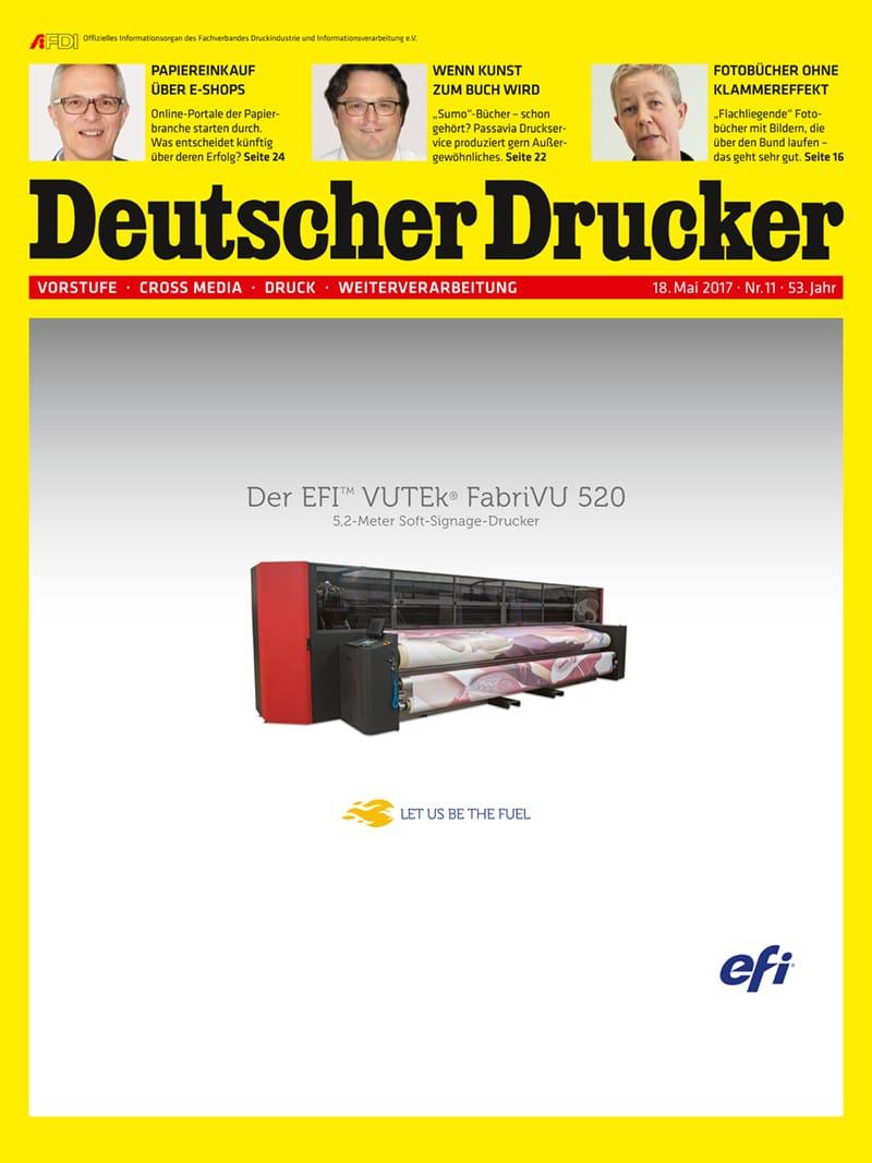 Produkt: Deutscher Drucker 11/2017 Digital