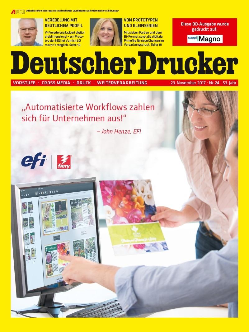 Produkt: Deutscher Drucker 24/2017 Digital