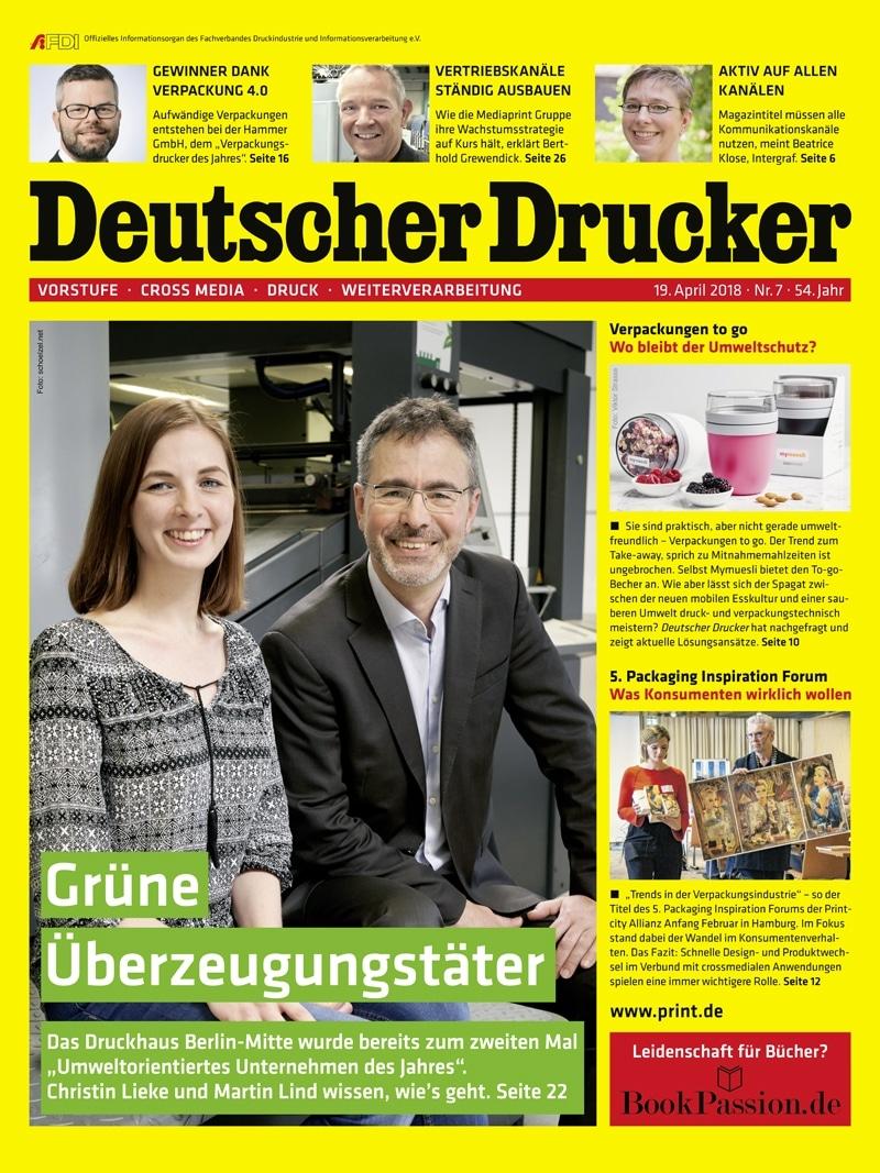 Produkt: Deutscher Drucker Digital 7/2018