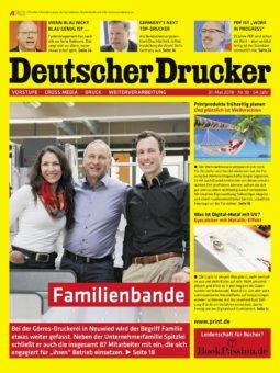 Produkt: Deutscher Drucker Digital 10/2018