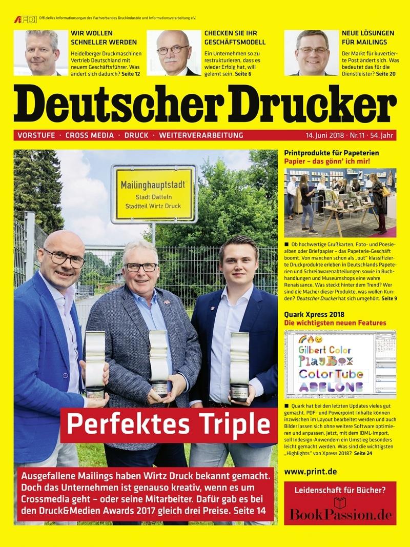 Produkt: Deutscher Drucker 11/2018 Digital