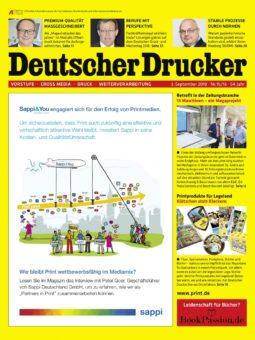 Produkt: Deutscher Drucker 15-16/2018