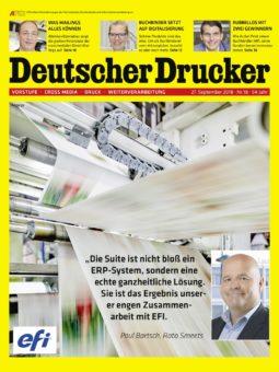 Produkt: Deutscher Drucker 18/2018