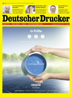 Produkt: Deutscher Drucker 19/2018