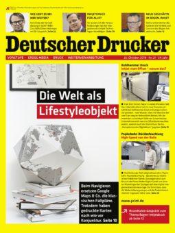 Produkt: Deutscher Drucker 21/2018