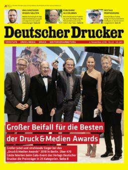 Produkt: Deutscher Drucker 22/2018