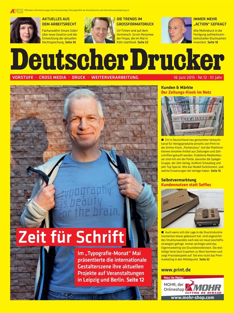 Produkt: Deutscher Drucker 12/2015 Digital