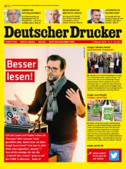Produkt: Deutscher Drucker 2/2019