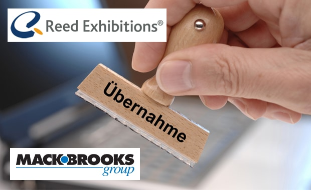 Messeveranstalter übernimmt Messeveranstalter: Mack Brooks gehört künftig zu Reed Exhibitions.