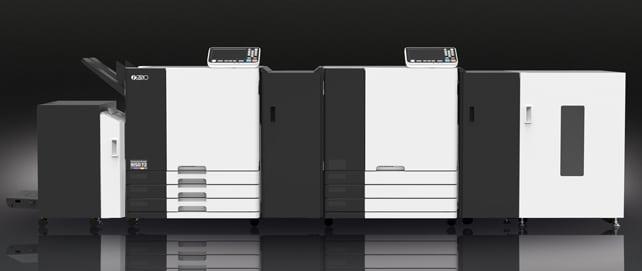 Der neue Riso T2 wird auf den Hunkeler Innovationdays in Luzern zu sehen sein.